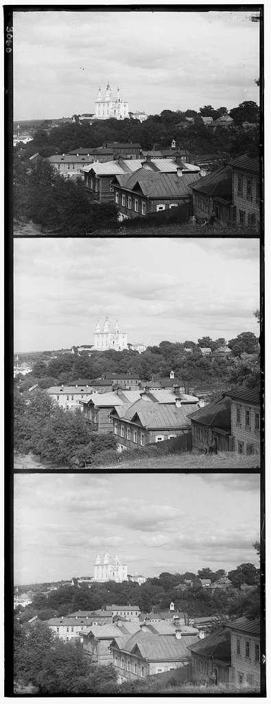 Kaḟedralʹnyĭ Uspenskīĭ sobor s Kazanskoĭ gory. Smolensk