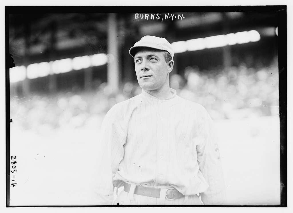George J. Burns, New York NL (baseball)