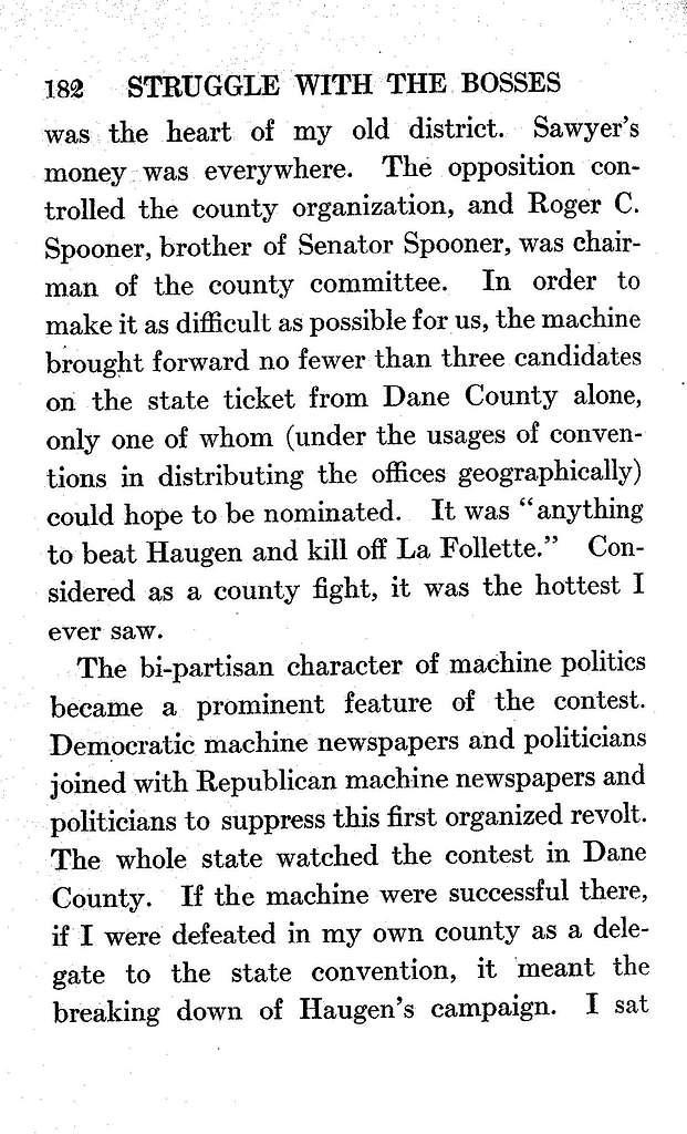 La Follette's autobiography; a personal narrative of political experiences,