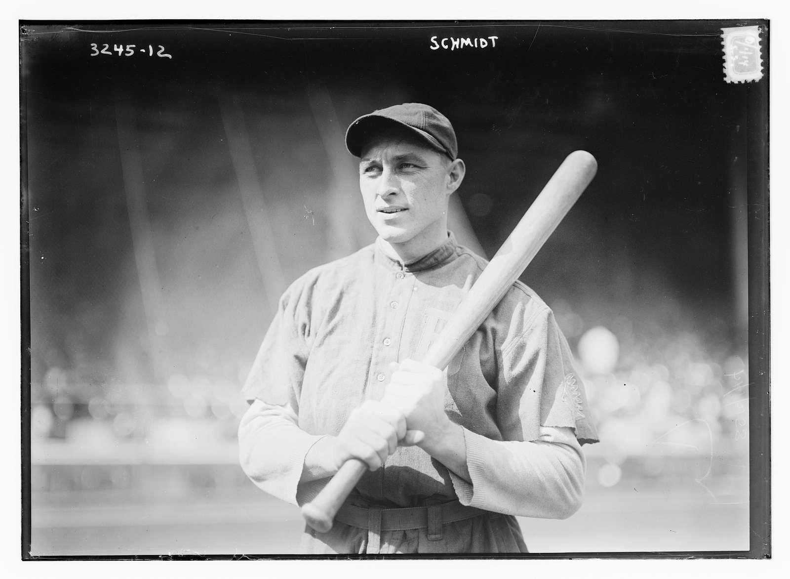 """Charles J. """"Butch"""" Schmidt, Boston NL (baseball)"""