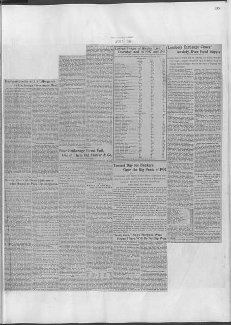 World War history : daily records and comments as appeared in American and foreign newspapers, 1914-1926 (New York), June 29, 1914, (1914 June 29-August 2)