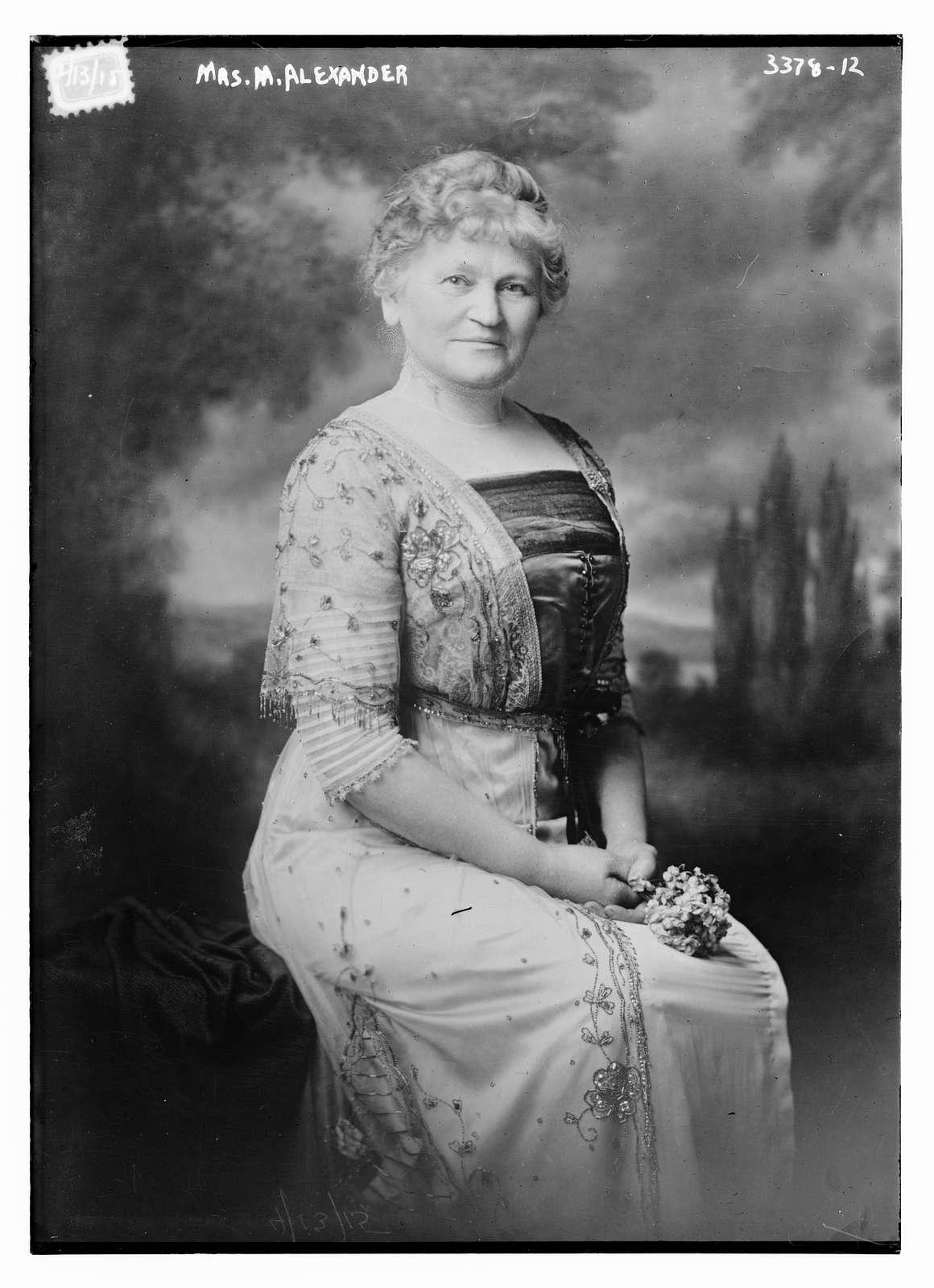 Mrs. M. Alexander