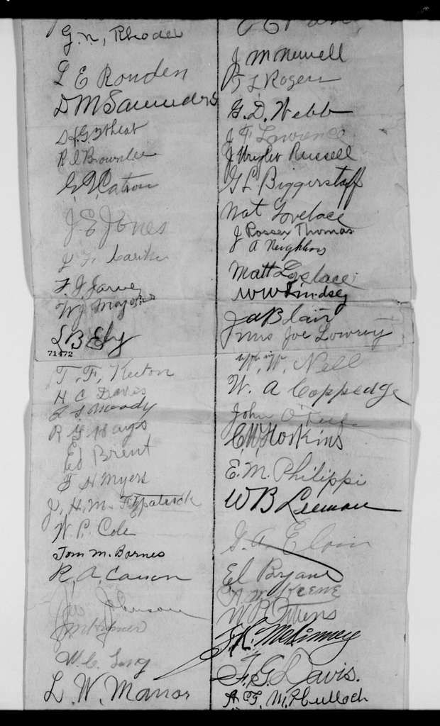 Woodrow Wilson Papers: Series 2: Family and General Correspondence, 1786-1924; 1915, Jan. 11-circa Jan