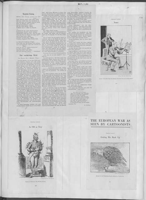 World War history : daily records and comments as appeared in American and foreign newspapers, 1914-1926 (New York), October 22, 1915, (1915 October 22-25)