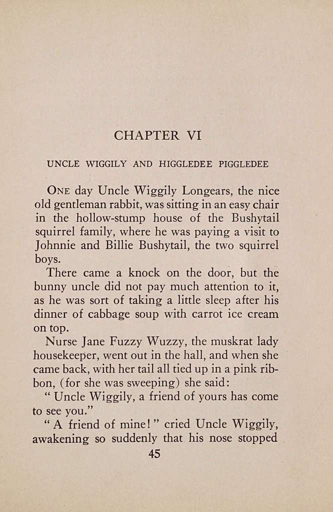 Uncle Wiggily and Mother Goose ..