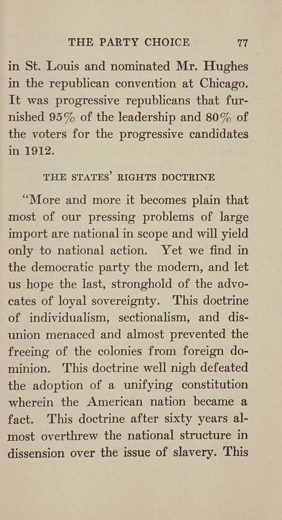 """Who wins in November? The """"Inside politics"""" that will decid the presidency in 1916,"""