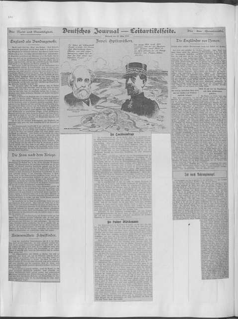 World War history : daily records and comments as appeared in American and foreign newspapers, 1914-1926 (New York), March 20, 1916, (1916 March 20-24)