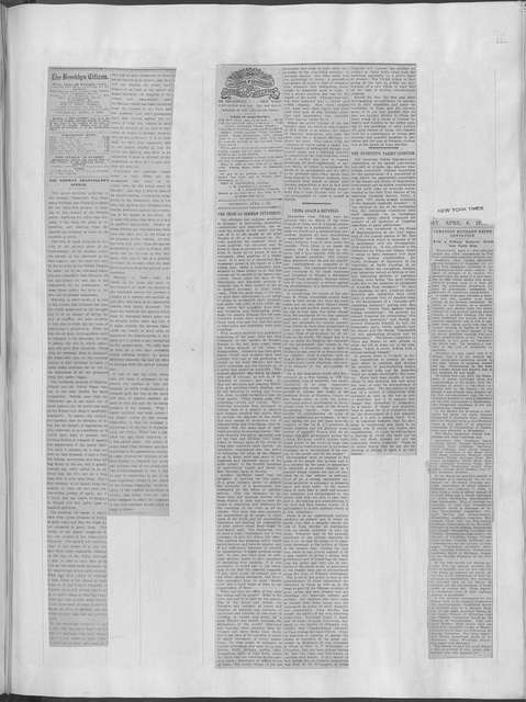 World War history : daily records and comments as appeared in American and foreign newspapers, 1914-1926 (New York), April 3, 1916, (1916 April 3-7)