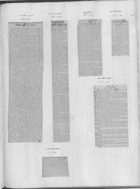 World War history : daily records and comments as appeared in American and foreign newspapers, 1914-1926 (New York), May 9, 1917, (1917 May 9-12)