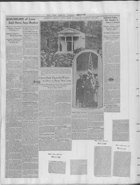 World War history : daily records and comments as appeared in American and foreign newspapers, 1914-1926 (New York), November 15, 1917, (1917 November 15-19)
