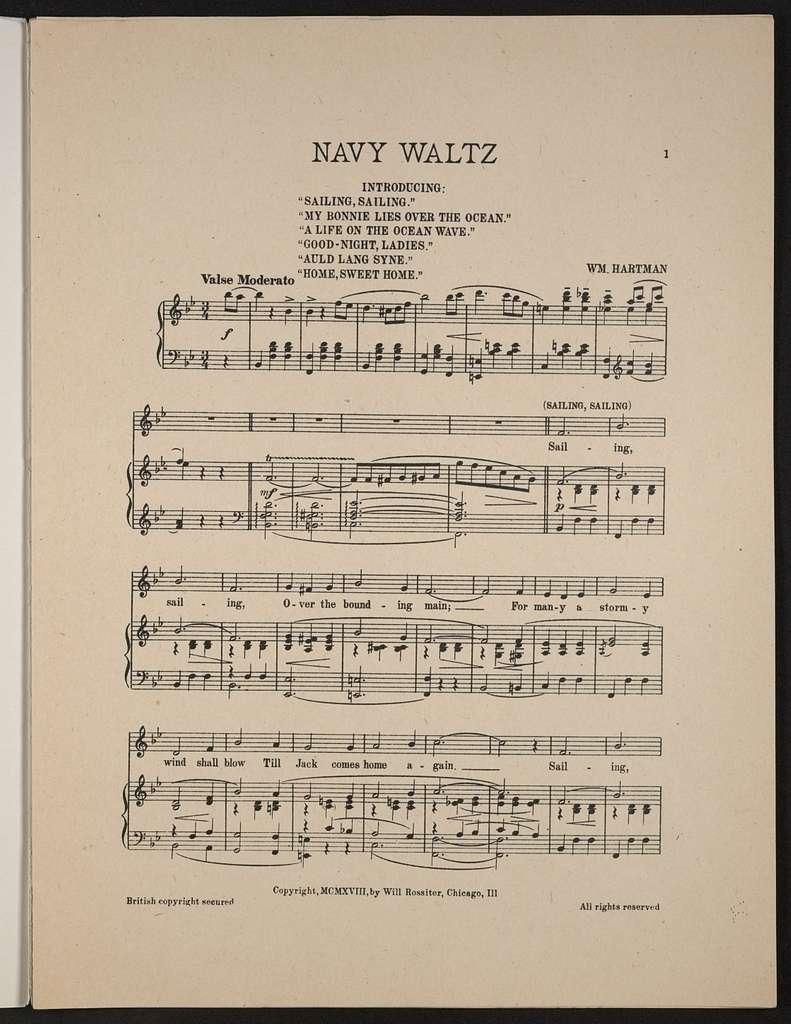 Navy waltz