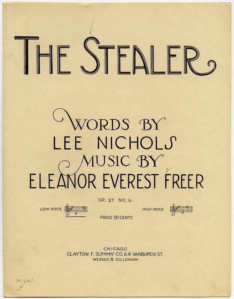 The Stealer Op. 27, No. 6