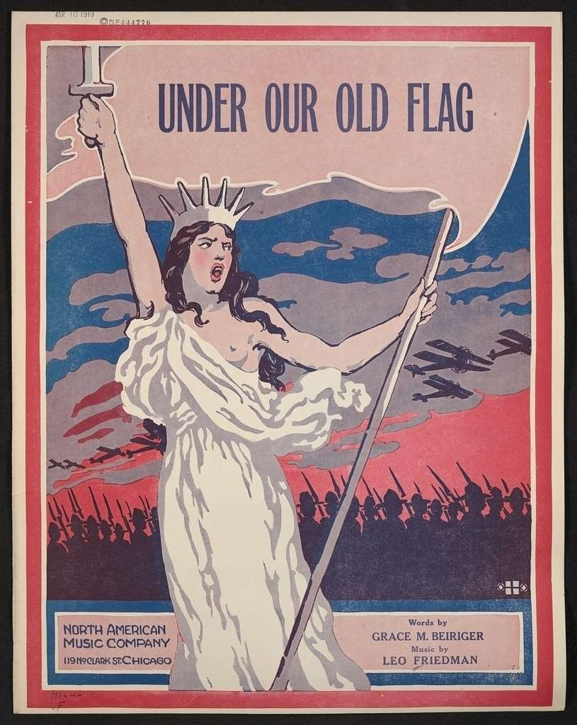Under our old flag