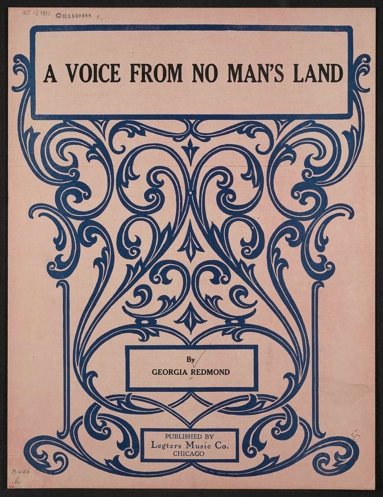 A voice from no man's land