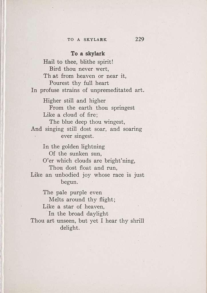 Eighth grade poems,