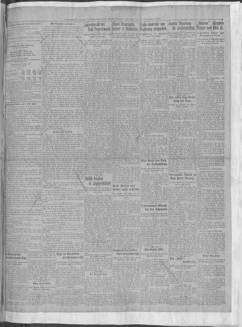 World War history : daily records and comments as appeared in American and foreign newspapers, 1914-1926 (New York), December 1, 1919, (1919 December 1-31)