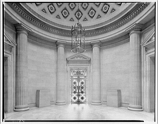 Department of Labor. Circular lobby, Department of Labor