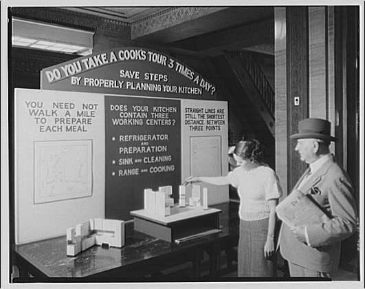 Electric Institute of Washington. Sales talk of modern kitchens II