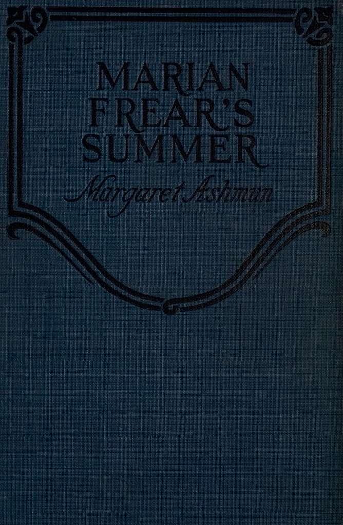 Marian Frear's summer,