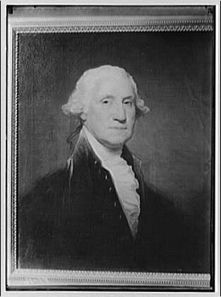 Paintings. George Washington by Gilbert Stuart, Andrew Mellon collection