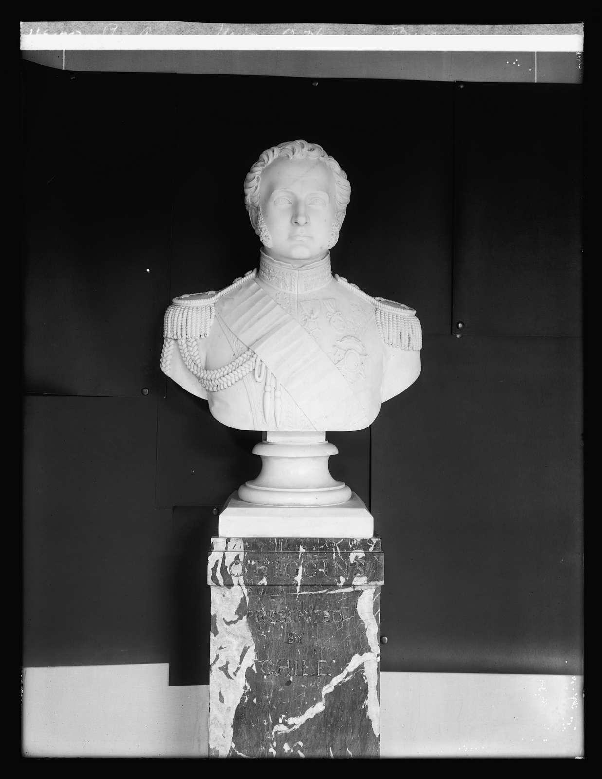 Pan American Union, O'Higgings bust, Washington, D.C.