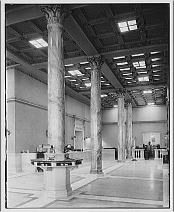 Potomac Electric Power Co. air conditioning and lighting. Washington Loan and Trust Co