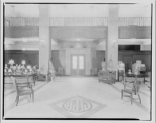 Potomac Electric Power Co. Building. Potomac Electric Power Co. store interior I