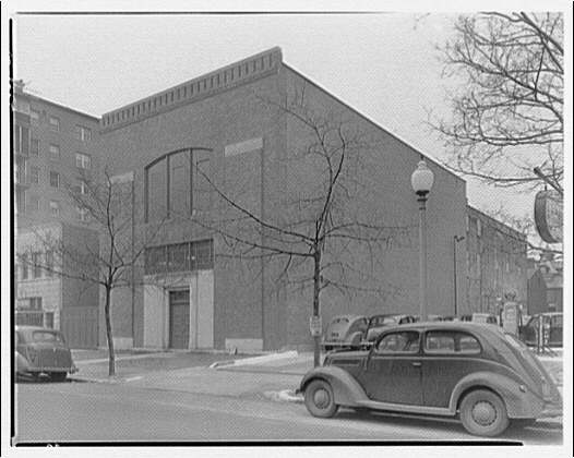 Potomac Electric Power Co. substations. L St. substation between 16th and 17th Sts
