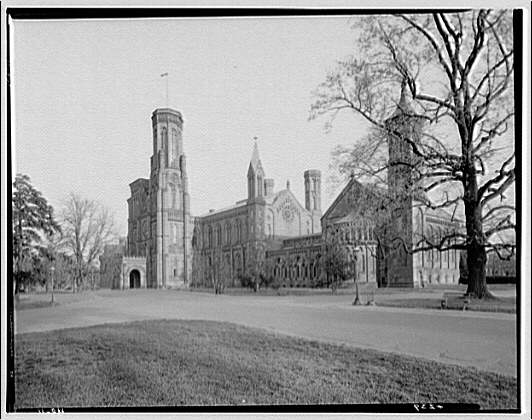 Smithsonian Institution exteriors. Smithsonian Institution Building I