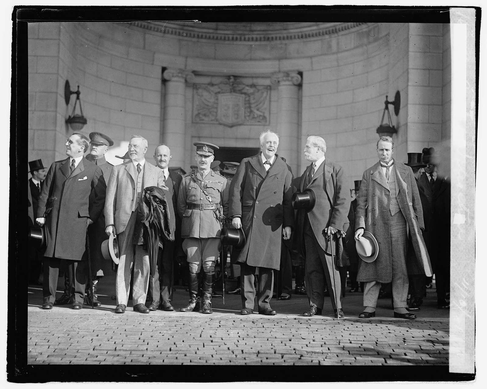 British Delegation, 111021