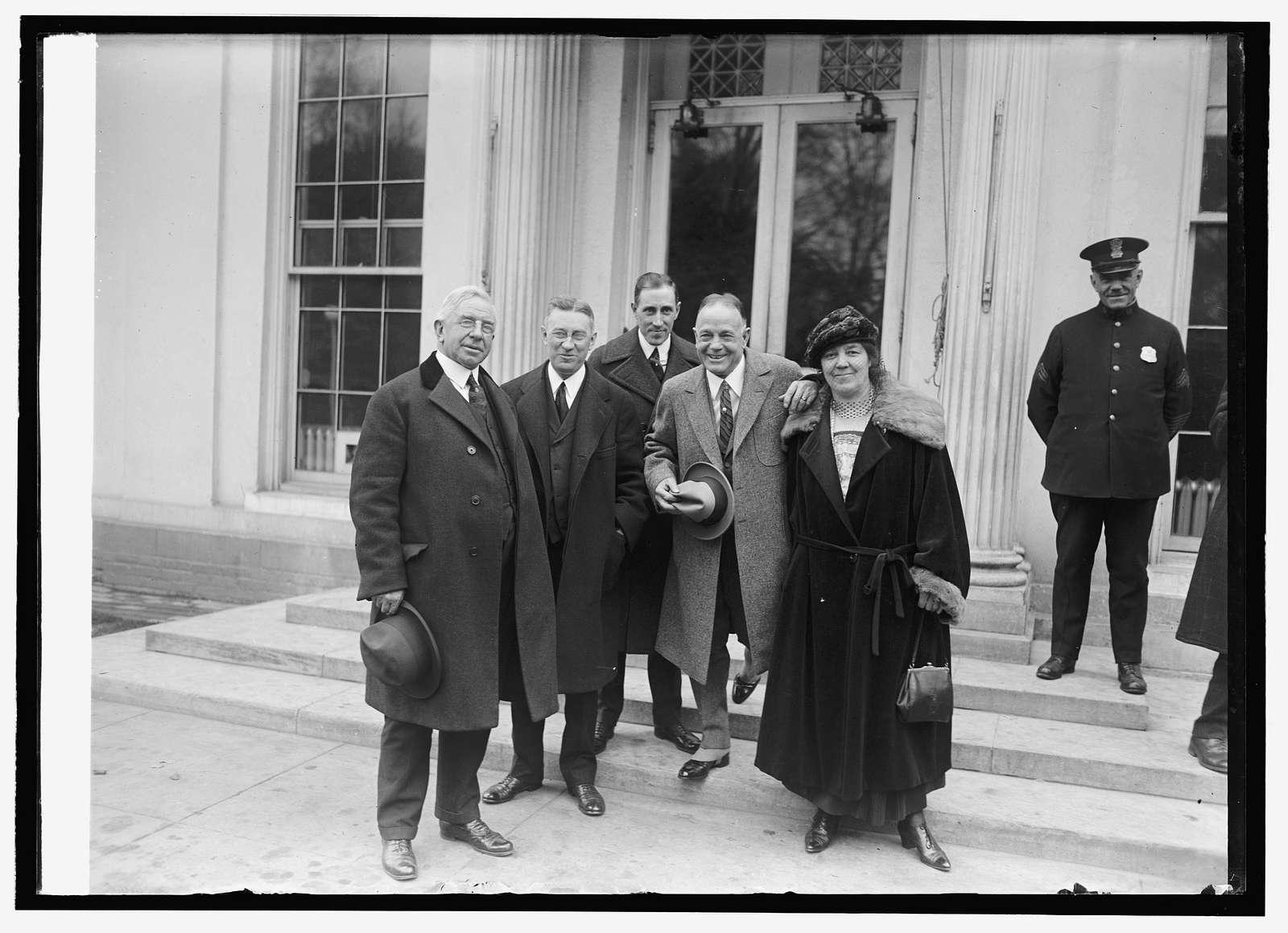 Billy Sunday at White House