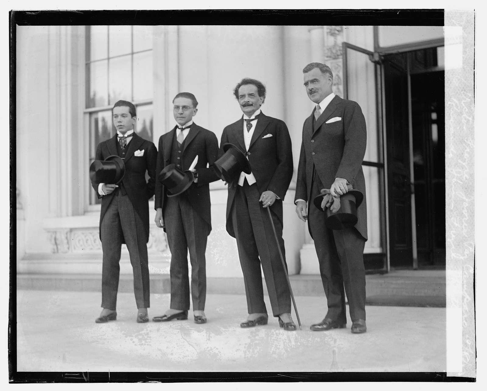 Victor Freyre, Javru Paz Camparo, Ricardo Jaimes Freyre, J.Butler Wright, 10823