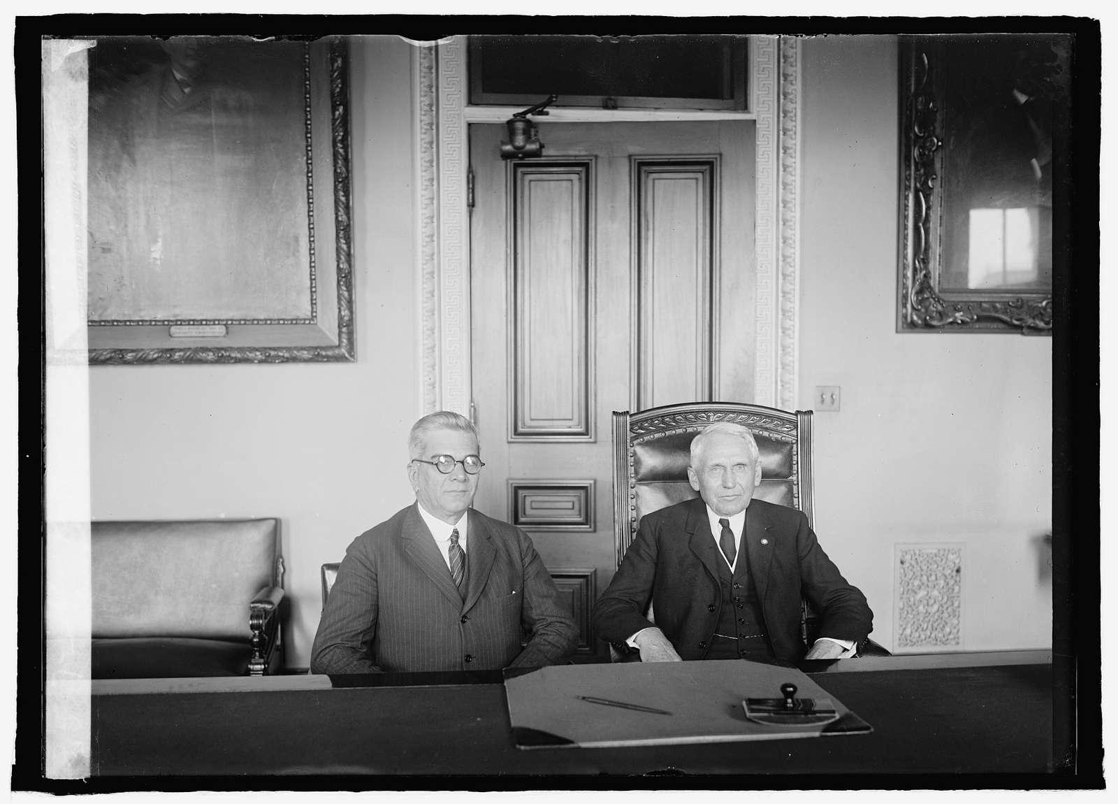 Senor Gerardo Machado and Sec. Kellogg, 41525