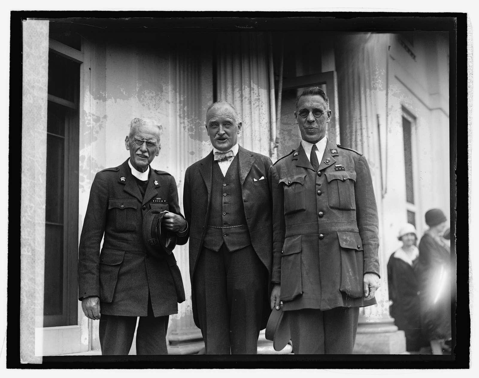Wilson Carlile, Sir Esme Howard & Capt. B.F. Montford, 6326