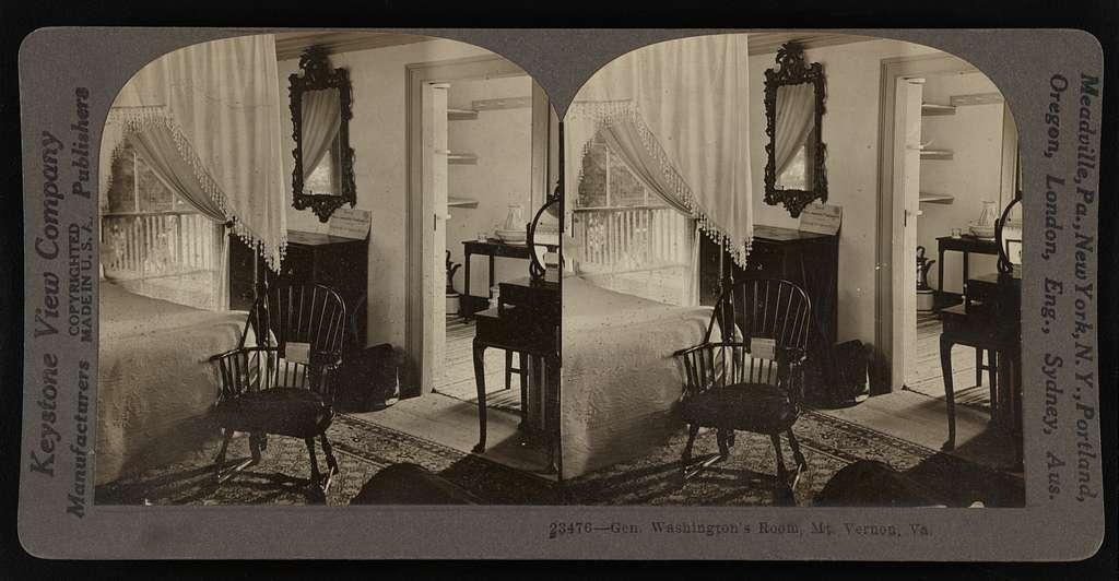 Gen. Washington's room, Mt. Vernon, Va