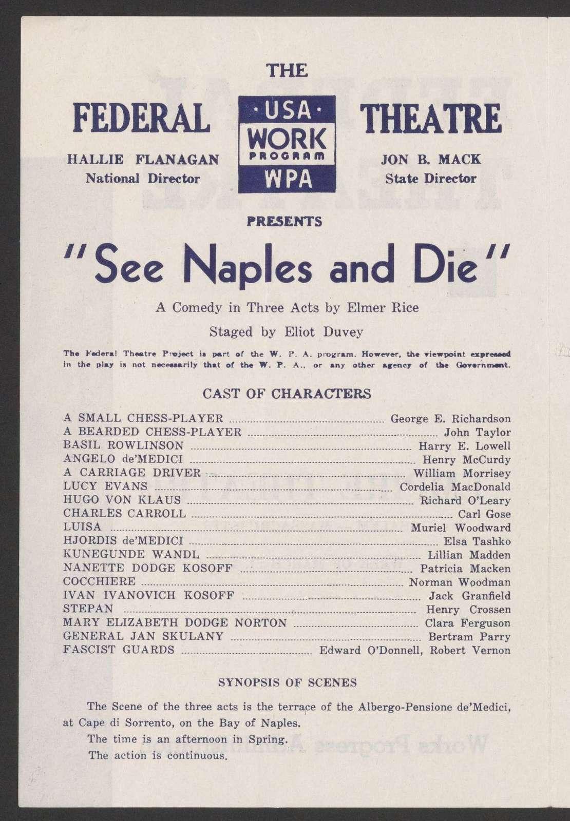 See Naples and Die
