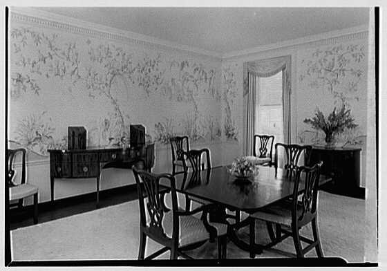 Charles S. Robertson, residence in Lloyd Harbor, Long Island. Dining room II