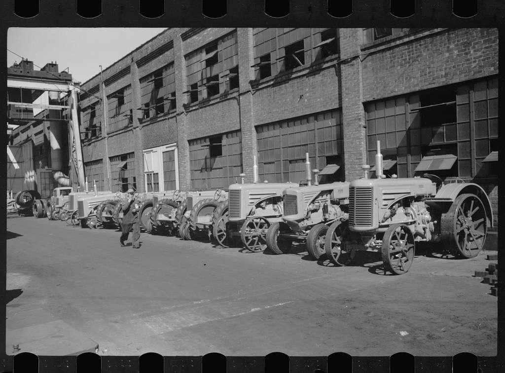 Moline tractor factory, Minneapolis, Minnesota