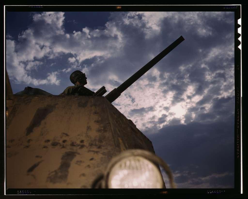 Tank commander, Ft. Knox, Ky