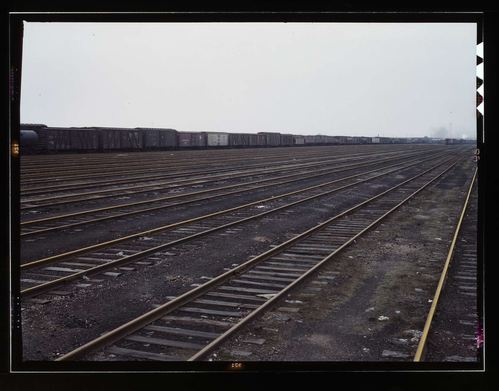 Tracks at Proviso yard of C & NW RR i.e. Chicago and North Western railroad, Chicago, Ill
