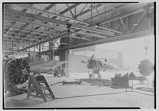 Grumman Aircraft Engineering Corp., Bethpage, Long Island. Interior I