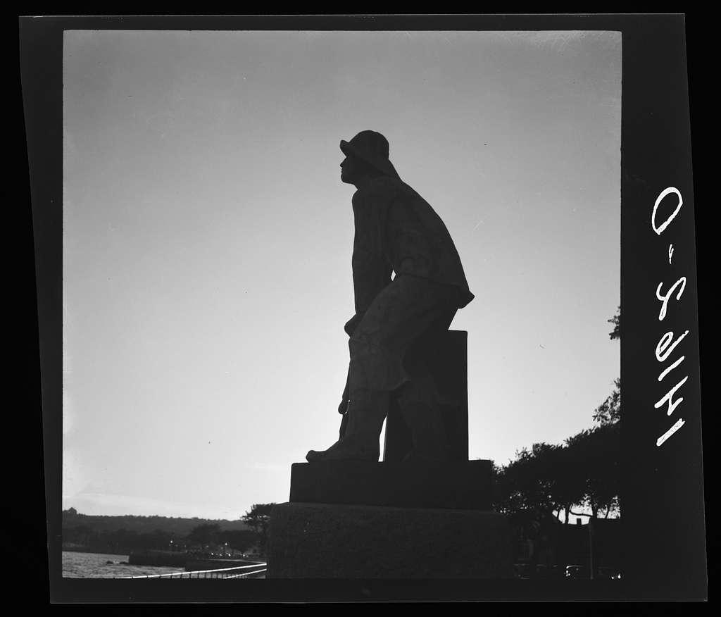 Monument dedicated to seamen. Gloucester, Massachusetts
