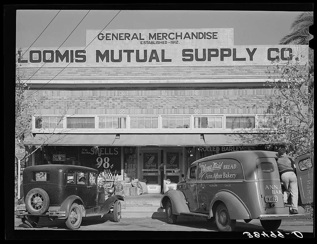 Store. Loomis, Placer County, California