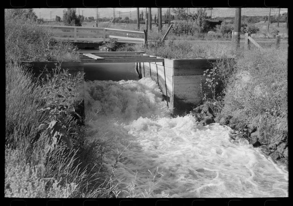 Untitled photo, possibly related to: Irrigation ditch in Box Elder County, Utah