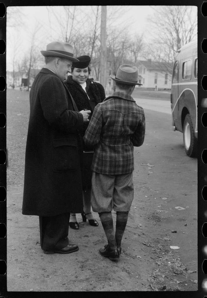 Untitled photo, possibly related to: Waiting for the bus in Colchester, Connecticut