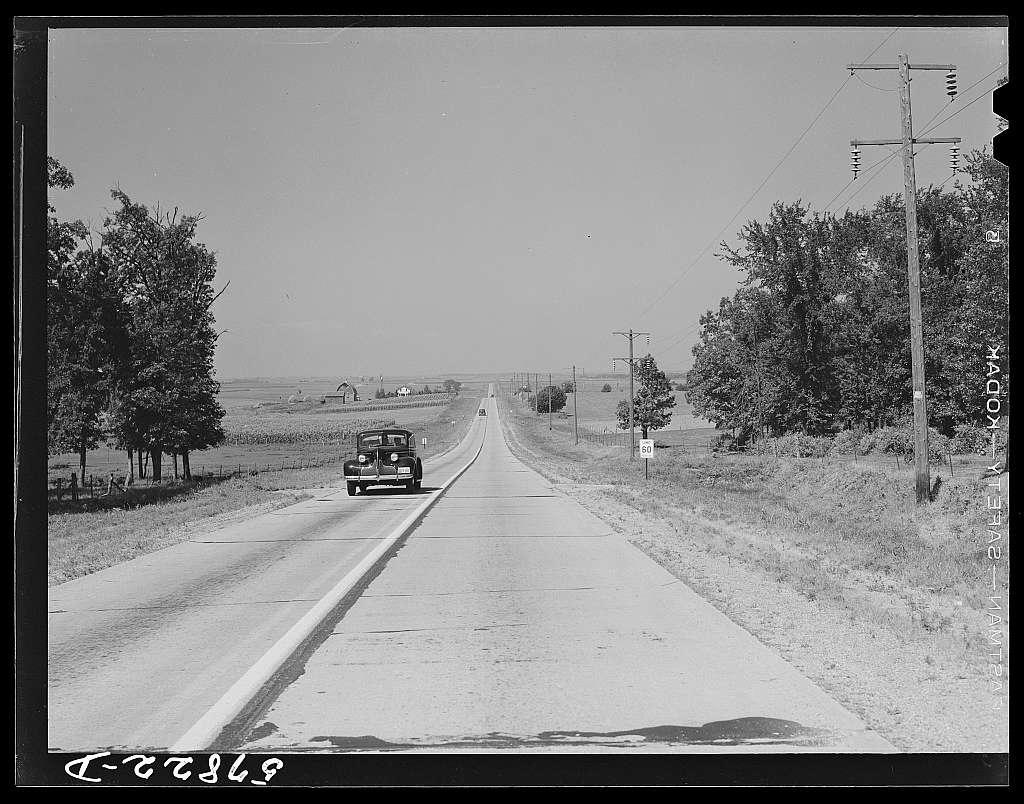 Highway near Minneapolis, Minnesota