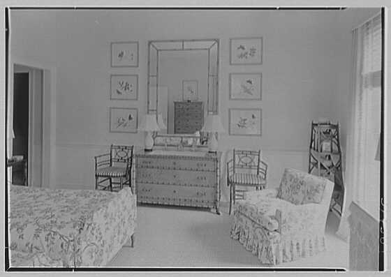 Mrs. H. Mercer Walker, residence in El Vedado, Palm Beach, Florida. Upper guest room I