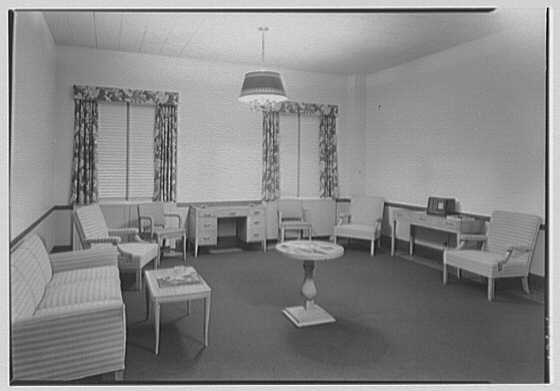 National Fire Group, Hartford, Connecticut. Women's lounge