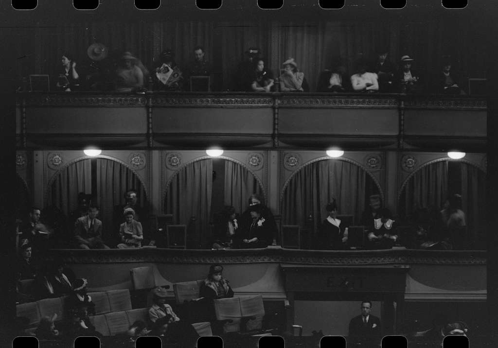 Untitled photo, possibly related to: Audience at concert given by Marian Anderson, Chicago, Illinois