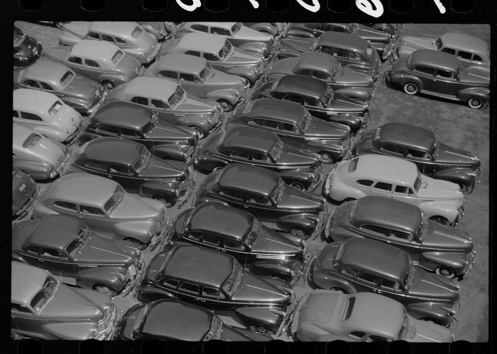 Untitled photo, possibly related to: Parking lot. Chicago, Illinois
